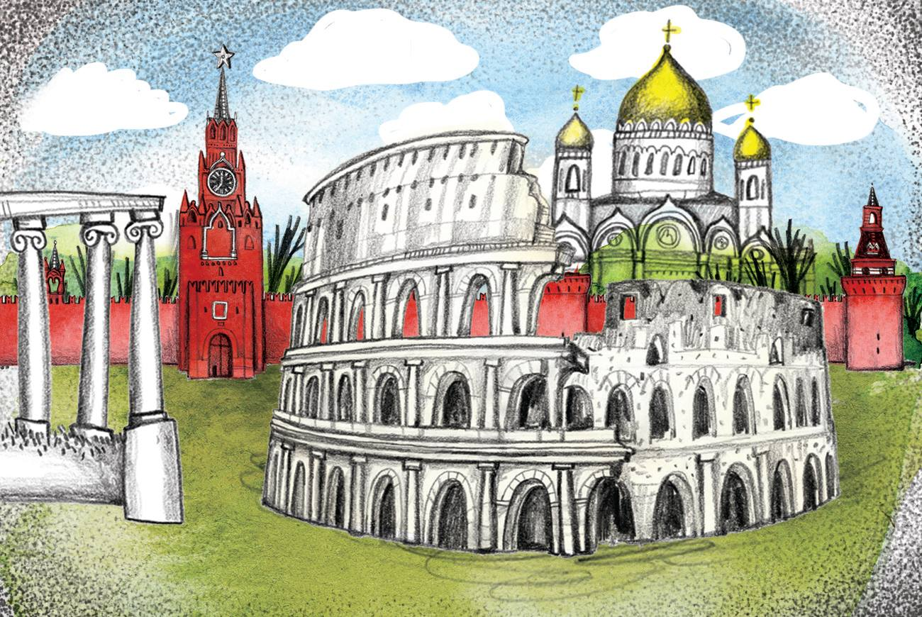 Why Russians call Moscow the Third Rome