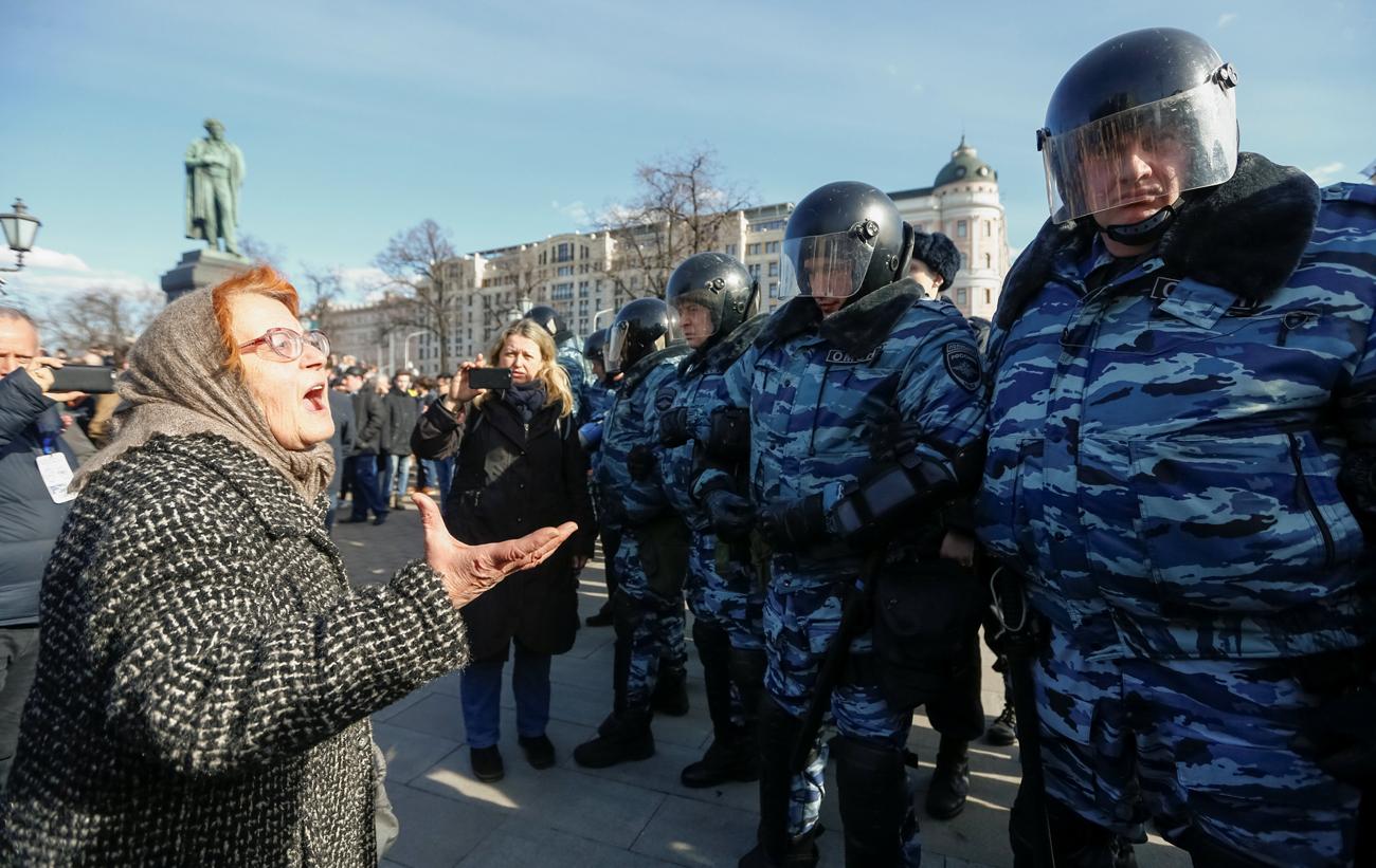 """Protestos colocaram """"batata quente"""" nas mãos do governo."""