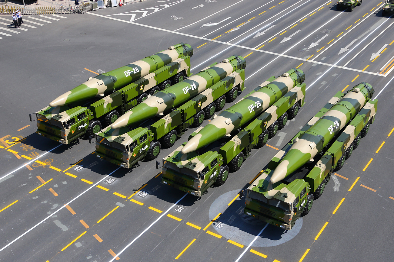 Beijing has a huge arsenal of missiles to combat THAAD.