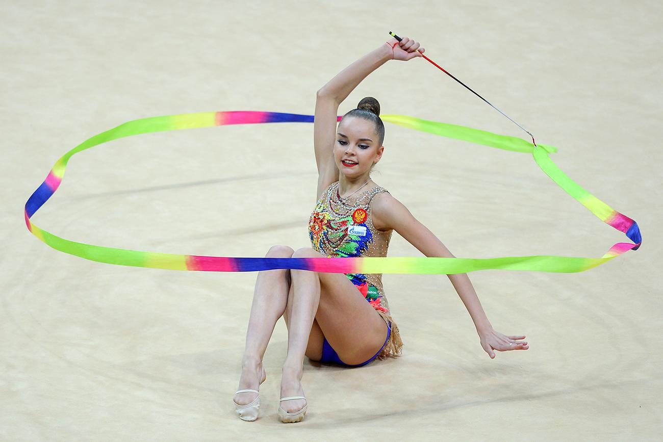 Гимнастичарката Дина Аверина.