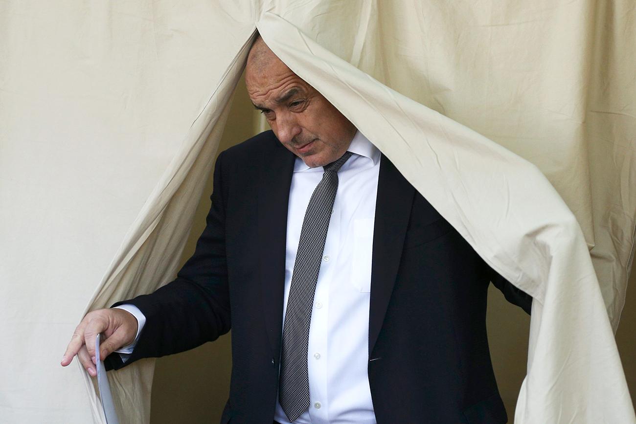 Лидерът на ГЕРБ Бойко Борисов.