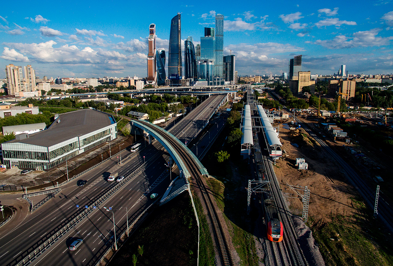 Moskow telah membarui sistem transportasinya sejak 2010.