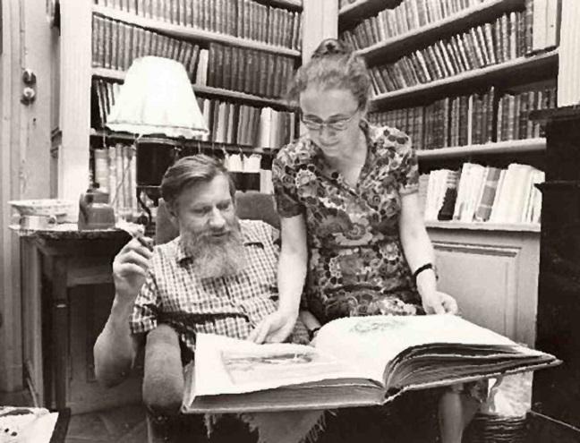 Andrei Sinyavsky and Maria Rozanova.