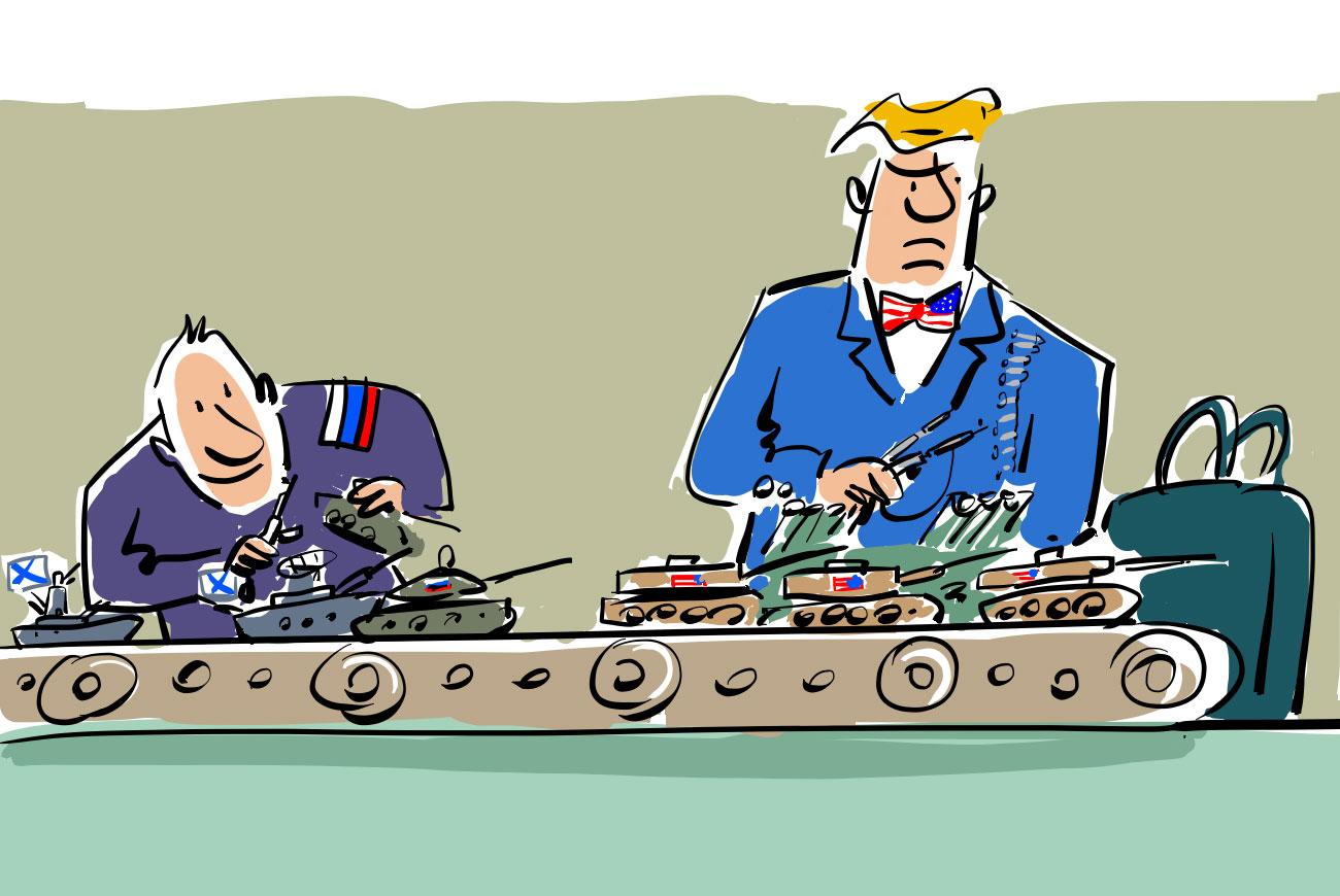 Einige Bündnispartner müssen womöglich auf russische Technik umsteigen.