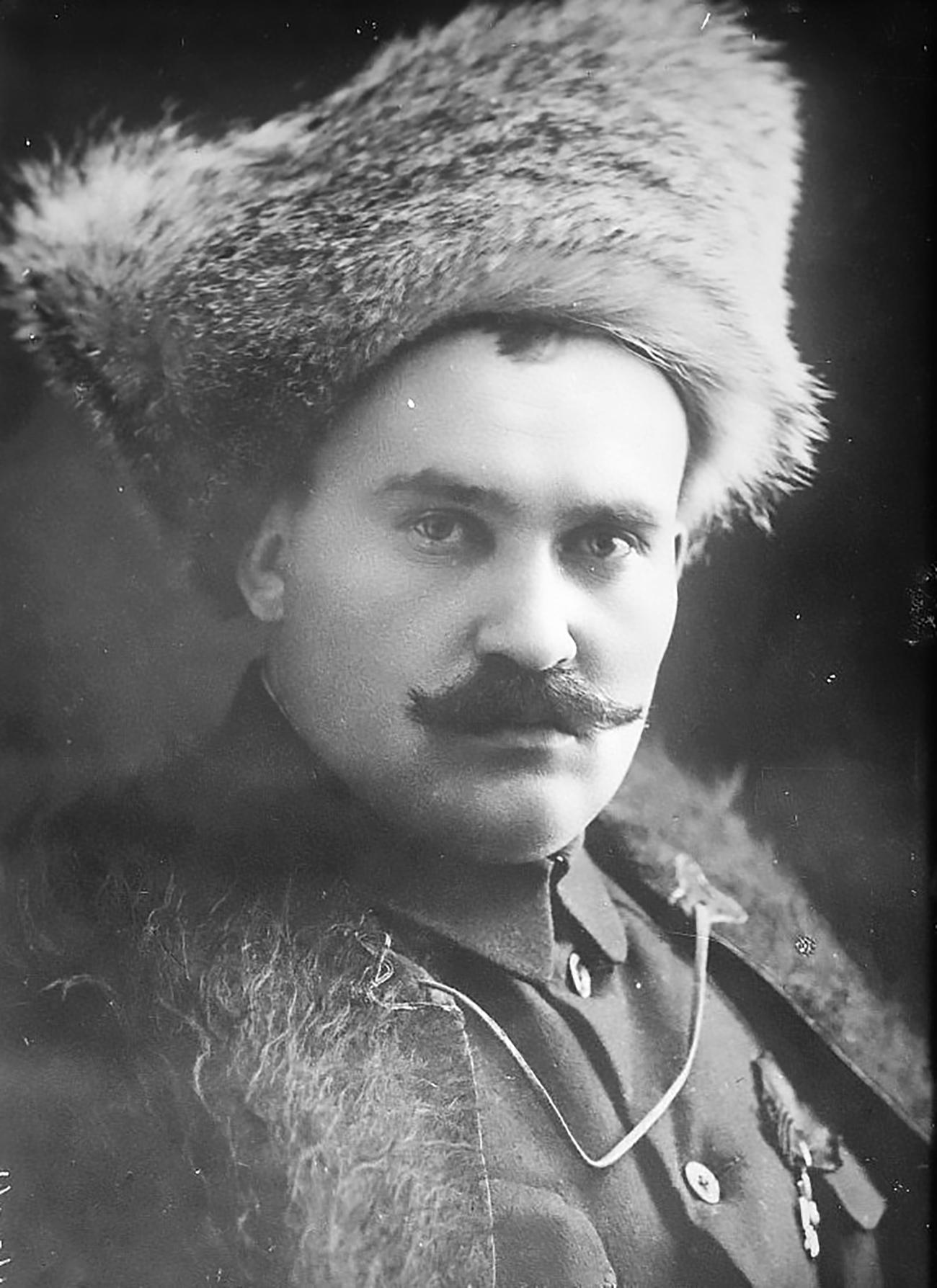 Ataman Grigory Semyonov / Library of Congress