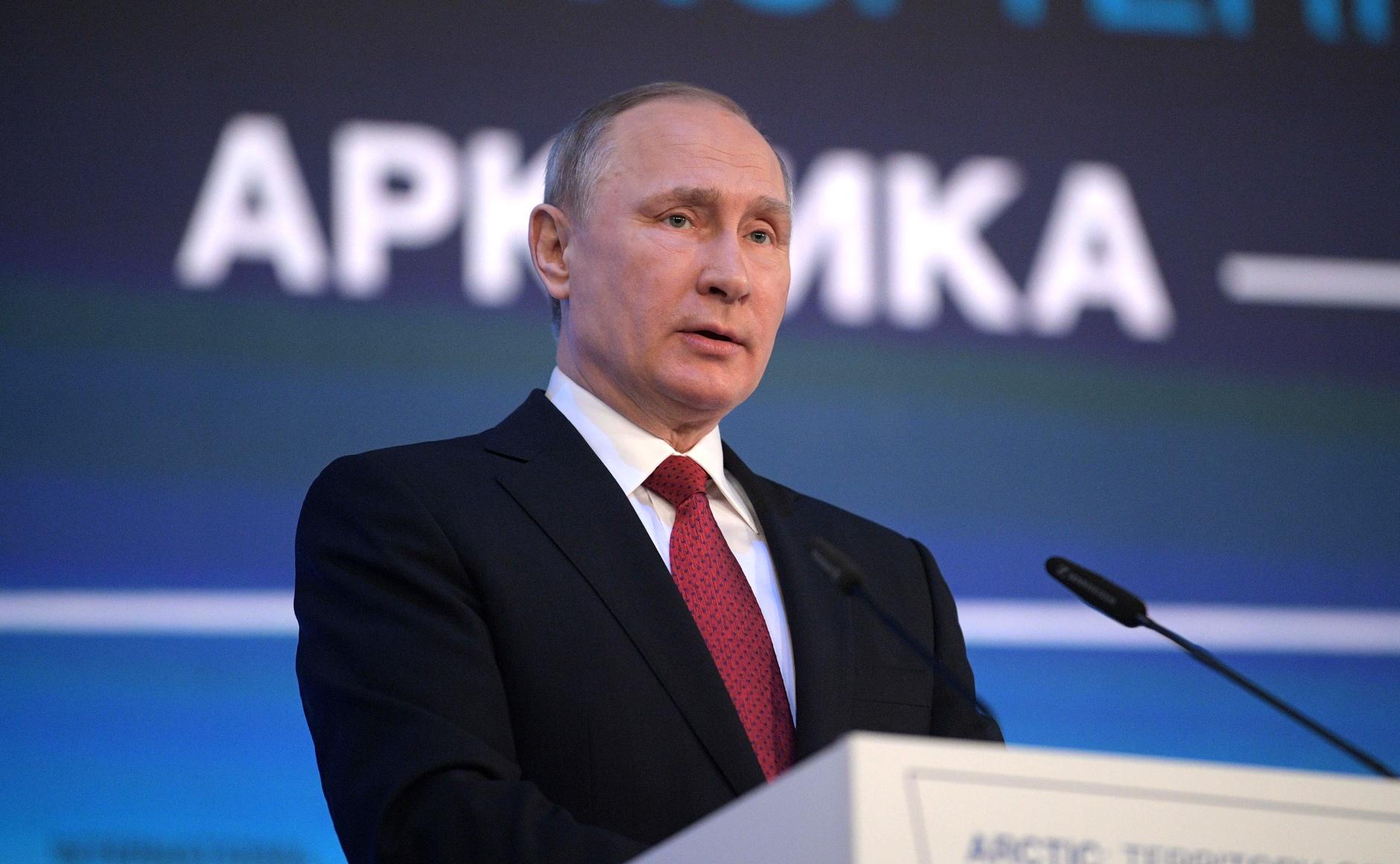 Руският президент Владимир Путин.