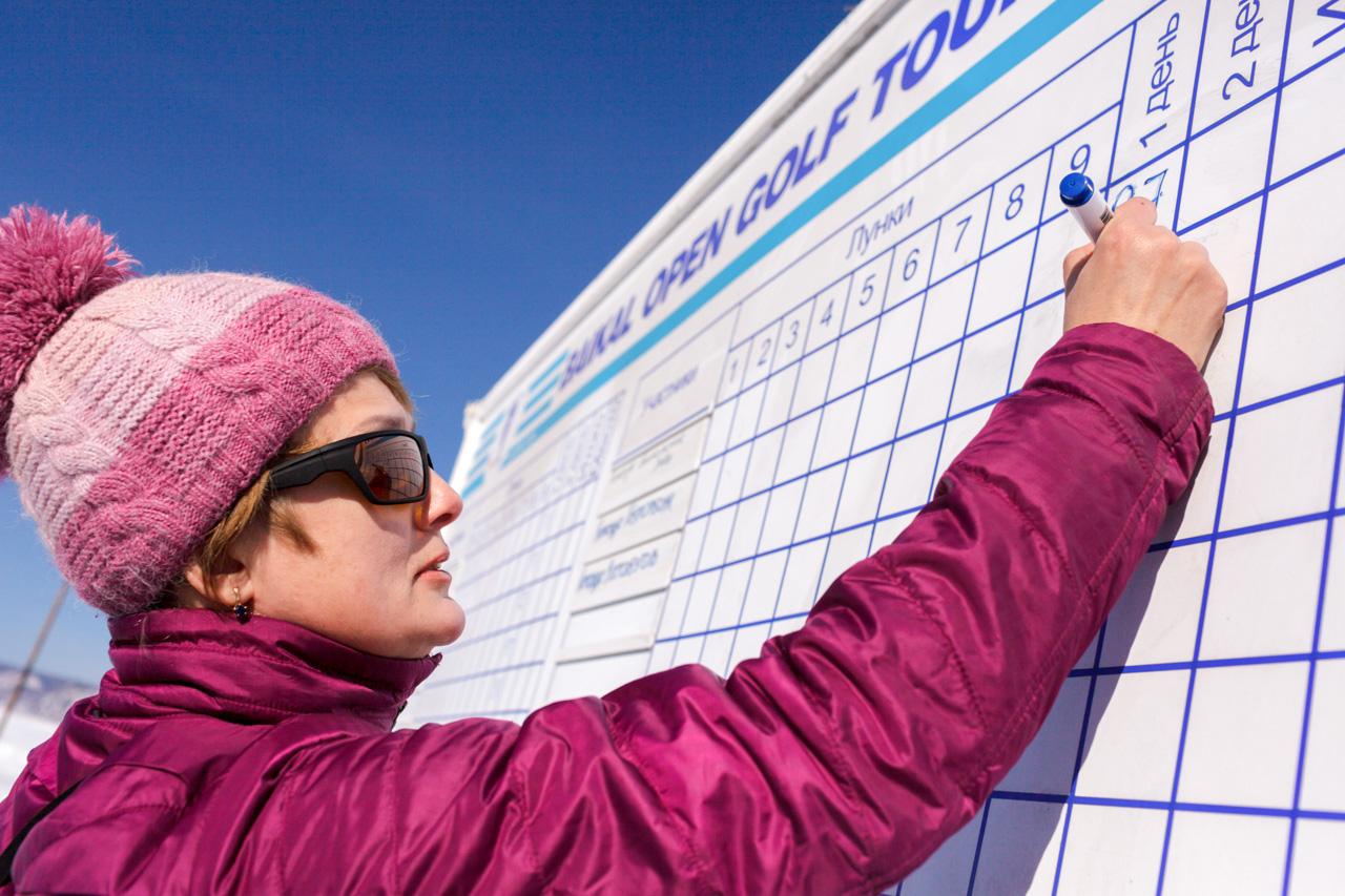 Natjecanja u golfu na ledu se odvijaju u blizini Listvjanke, malog naselja 70 km od Irkutska, okruženog šumskim predjelima i maglovitim planinskim vrhovima na dijelu zemlje prošaranom ponekim kolibama i kućama, koje se proteže 5 km duž obale Bajkalskog jezera. Jedina rijeka koja izvire iz Bajkalskoj jezera – Angara – udaljena je sat vremena vožnje.