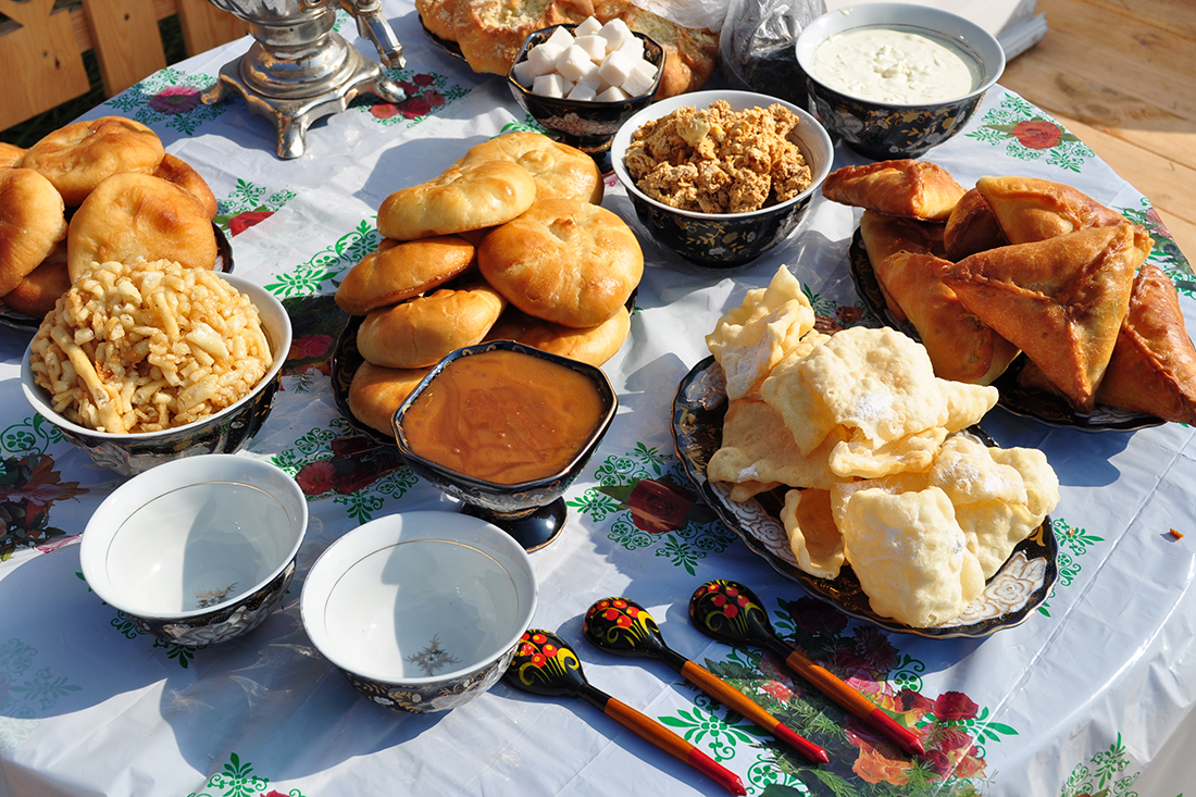 La cocina tártara es famosa por sus postres y pasteles. Fuente: Lori/Legion-Media