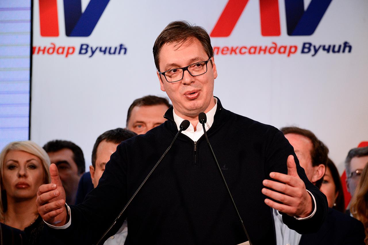 Ruski stručnjaci se slažu da će Srbija poslije Vučićeve pobjede nastaviti zbližavanje sa Zapadom. /