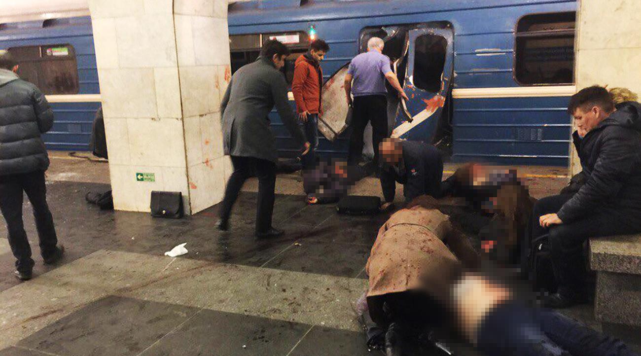 Eksplozija v Sankt Peterburgu.