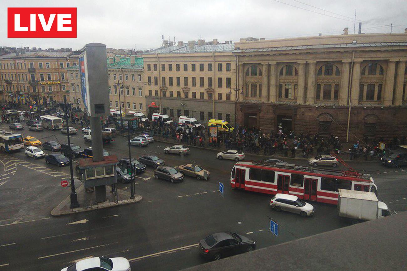 2017년 4월 3일, 상트페테르부르크 지하철 폭발 사고