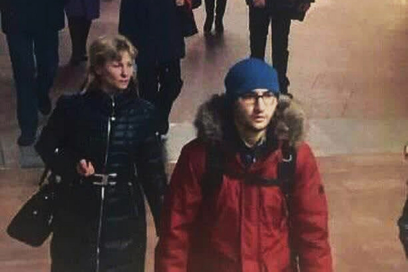 Alleged bomber, 22-year-old Kyrgyz-born Russian citizen Akbarzhon Jalilov.