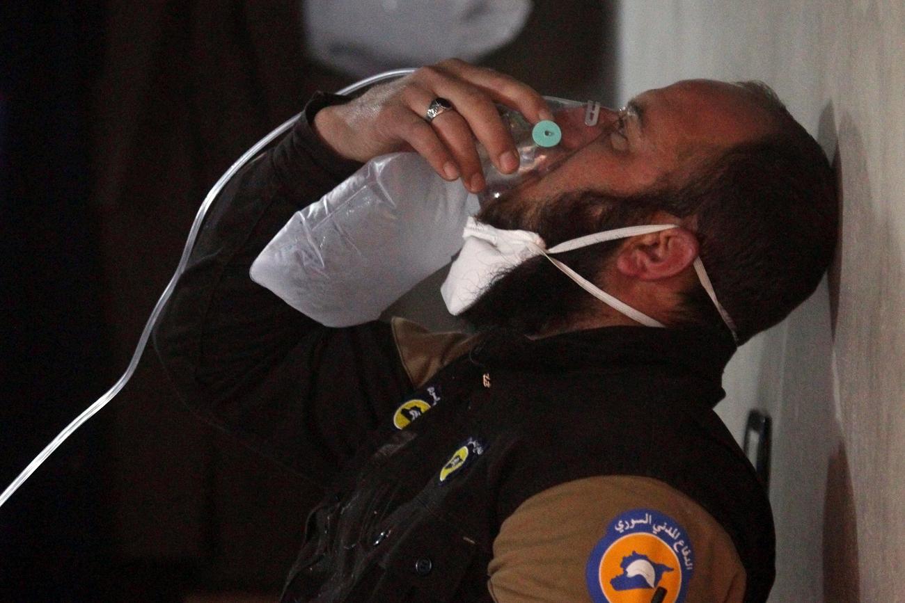 Menurut data Kementerian Pertahanan Rusia, pesawat tempur Suriah menyerang gudang tempat teroris memproduksi senjata kimia