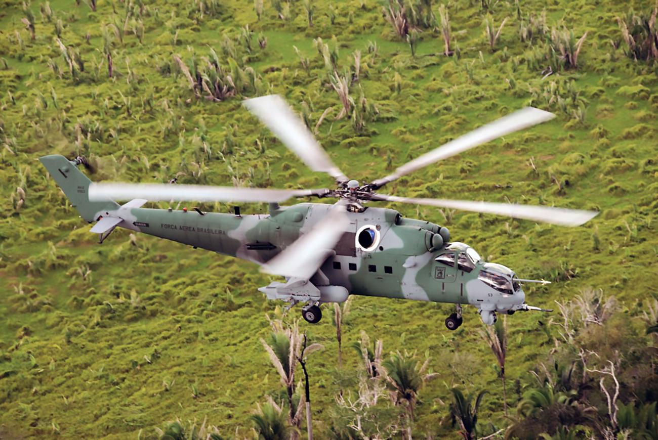Las exportaciones a los países de la America Latina constituyen más del 9% del total de las exportaciones de la técnica militar rusa.