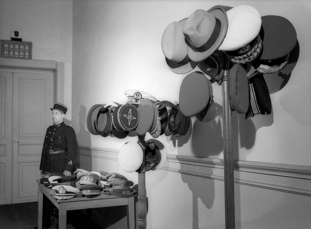 Coiffes des participants à la Conférence de Potsdam, juillet 1945. Crédit: Musée d'art multimédia de Moscou