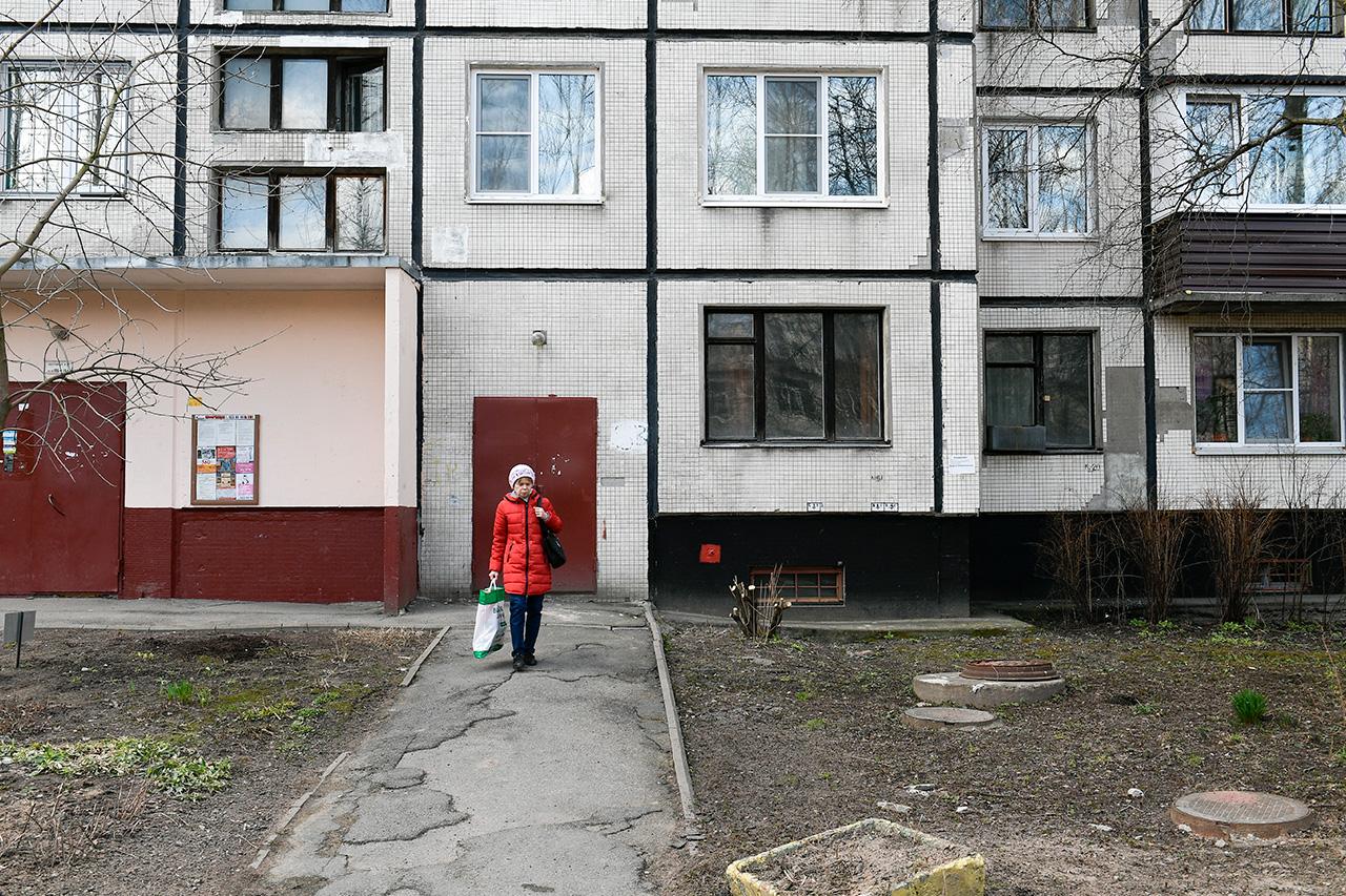 The building where Jalilov lived. / Photo: Alexei Danichev/RIA Novosti