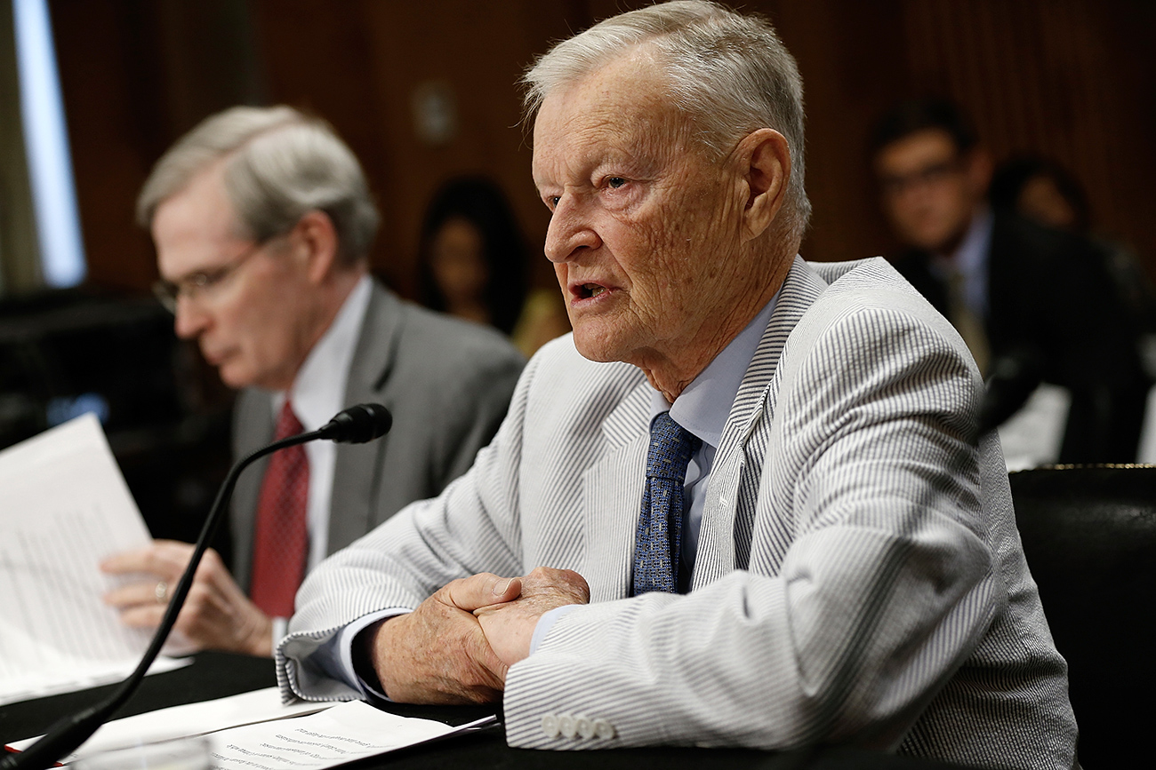 Zbigniew Brzezinski: Russia should form a closer union with U.S. and China