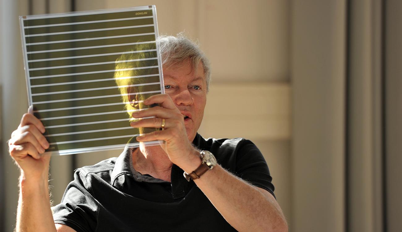 Michael Grätzel. Sa percée dans le domaine photovoltaïque lui a assuré la victoire.
