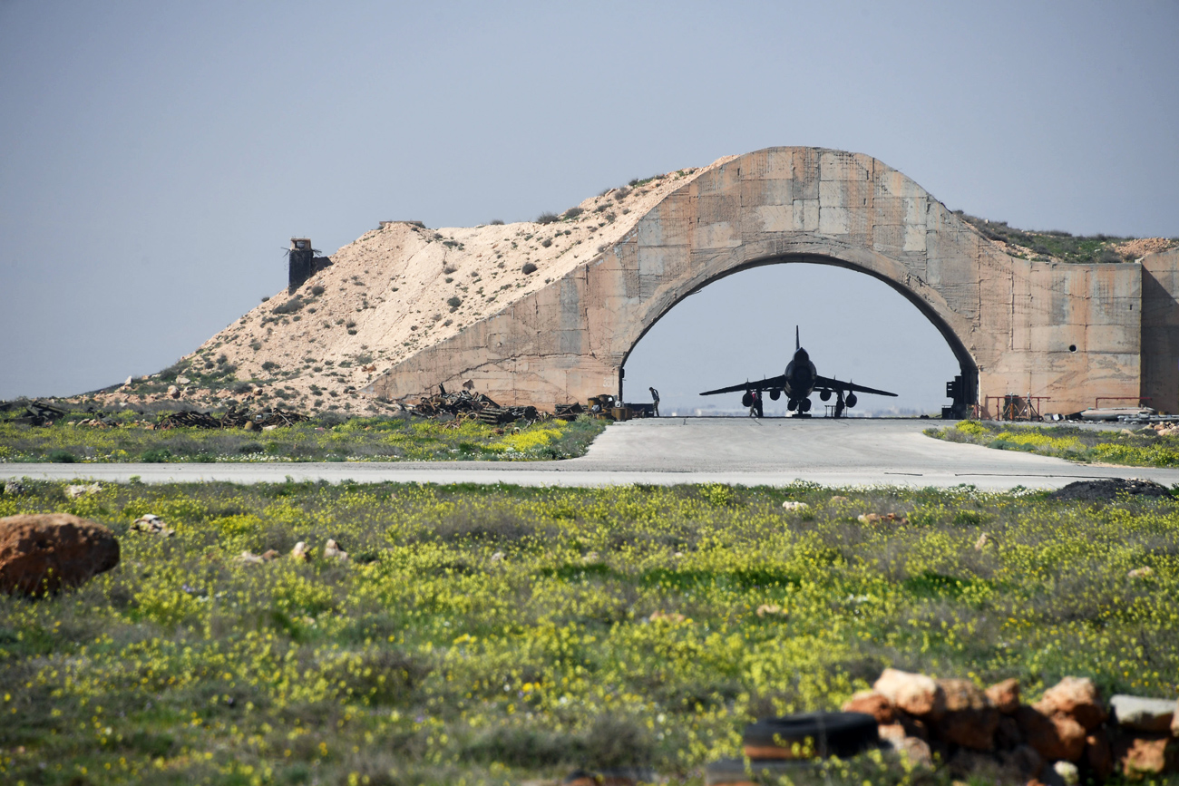 The United States launched a military strike on a Syrian airbase on April 7.