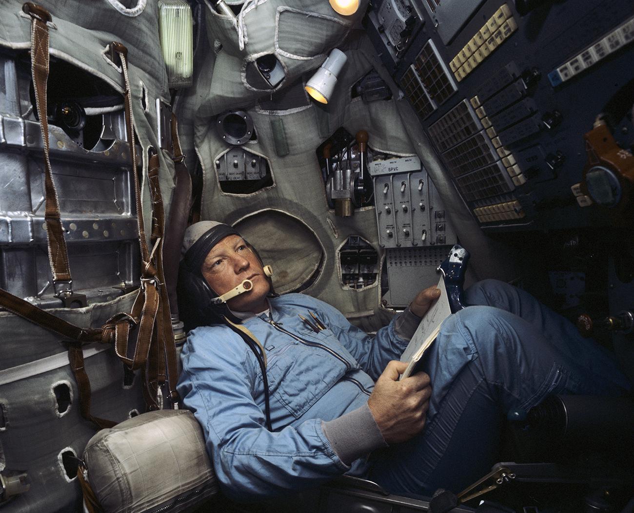 「ソ連英雄」受賞飛行士イーゴリ・ヴォルク氏=アレクサンドル・モクレツォフ/ロシア通信