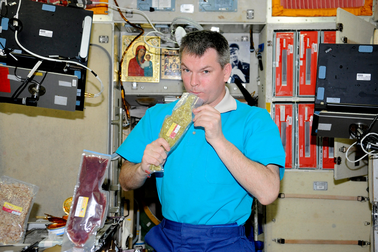 ISS第28次/第29次長期滞在=写真提供:ロスコスモス
