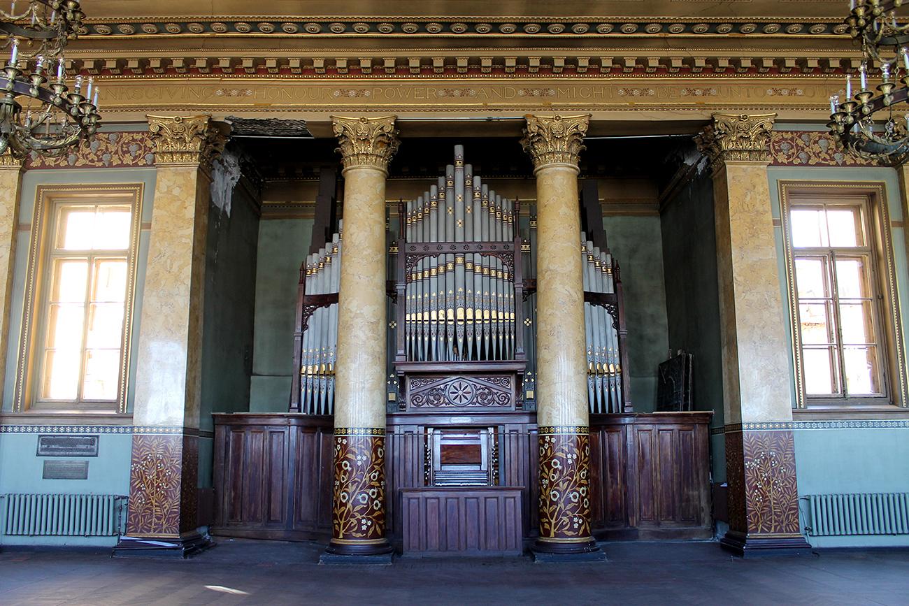 Organ built in 1877.\n