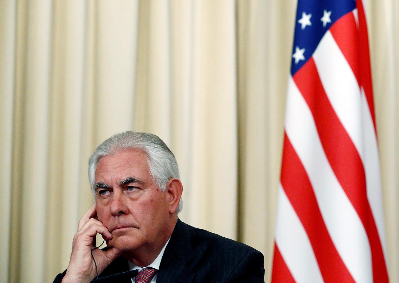 U.S. Secretary of State Rex Tillerson.