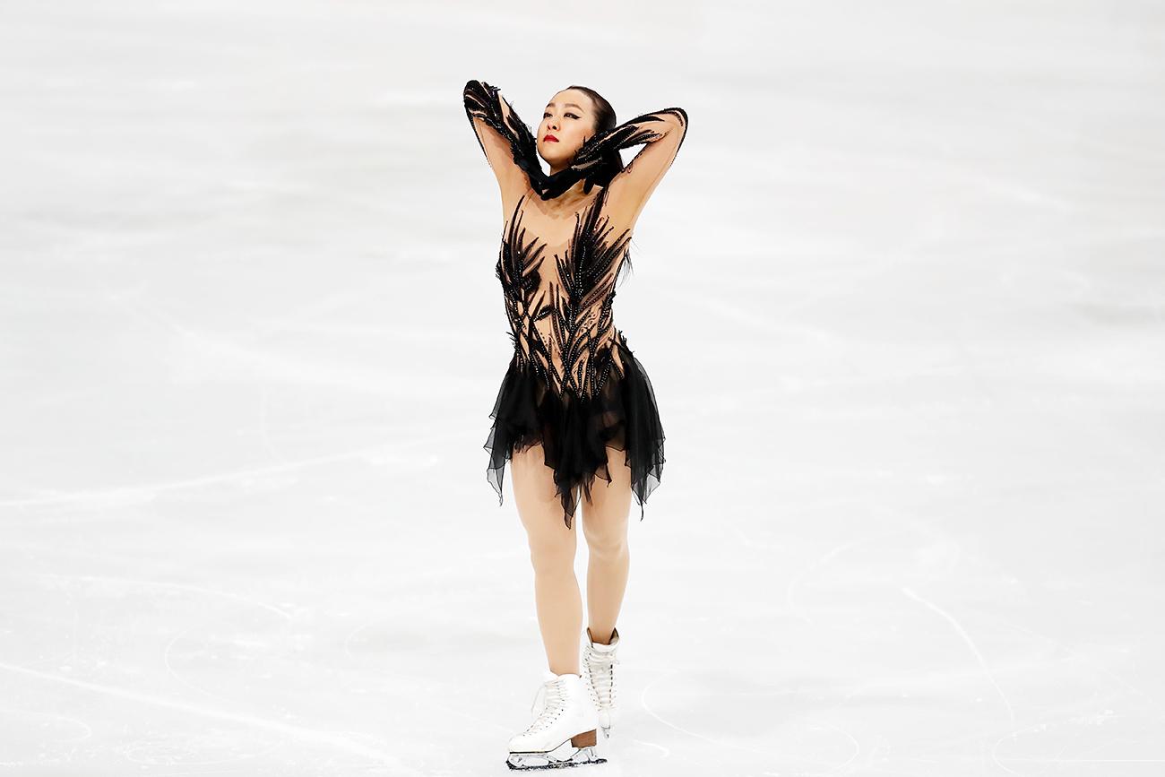 Гран-при по фигурно пързаляне в Париж. Снимка: AFLO/Global Look Press