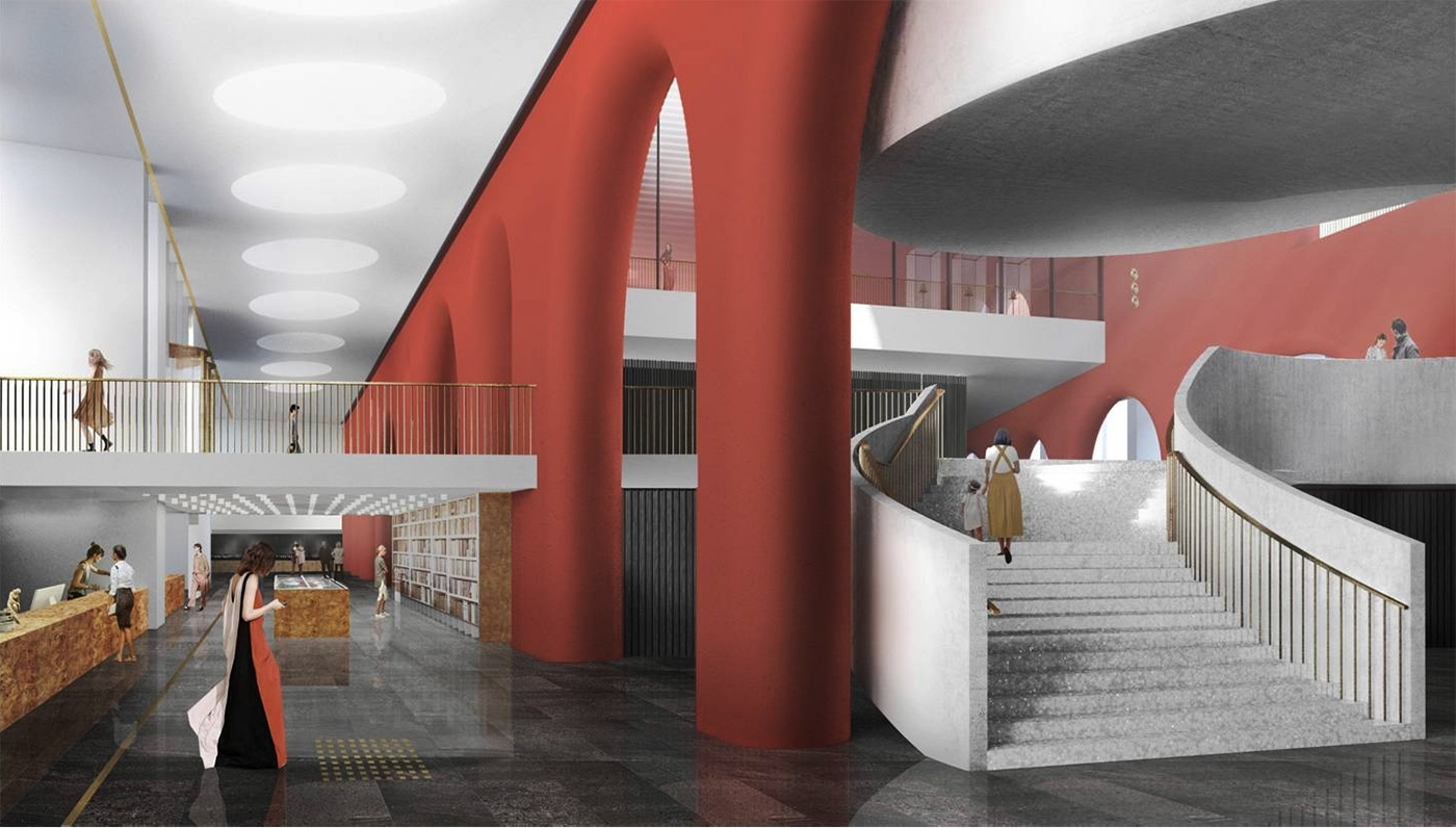 Project by theMeganom architectural bureau for the Kremlin museum. Source:Moscow Kremlin Museums\n
