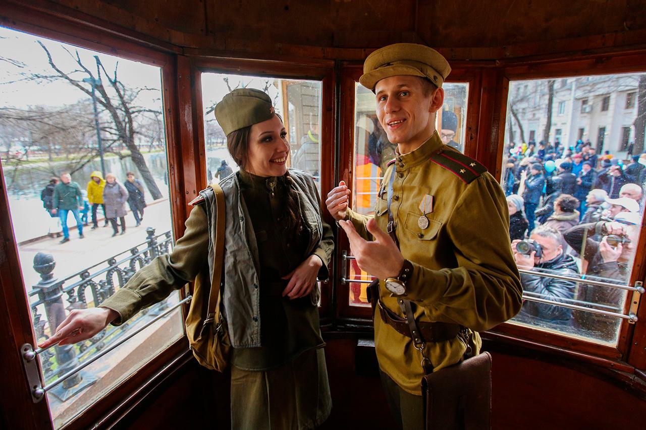 Aujourd'hui, on dénombre 47 lignes de tramway à Moscou, sur lesquelles circulent en semaine plus de 750 wagons.