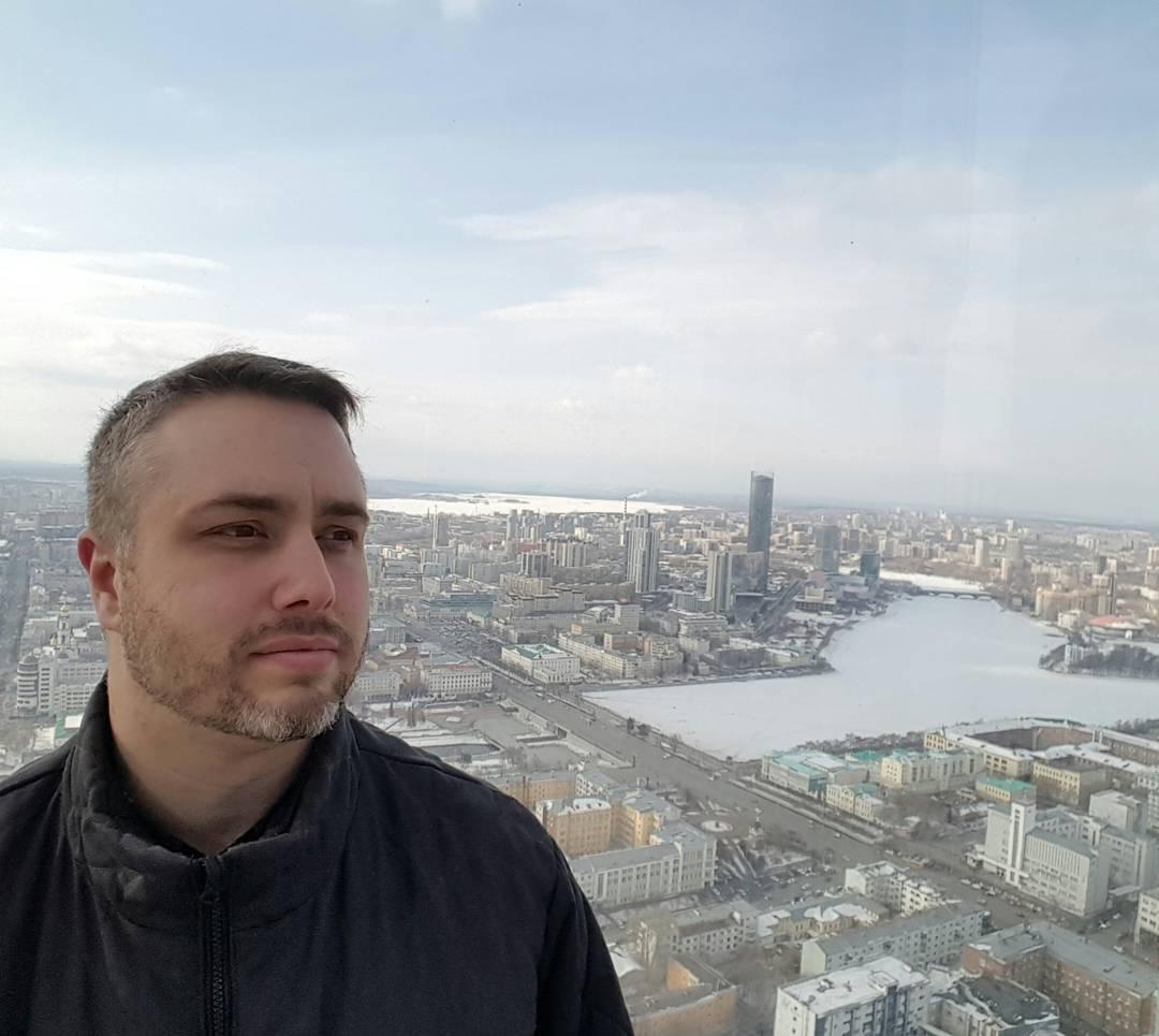 Louis Marinelli danes živi v Jekaterinburgu. Vir: Osebni arhiv.