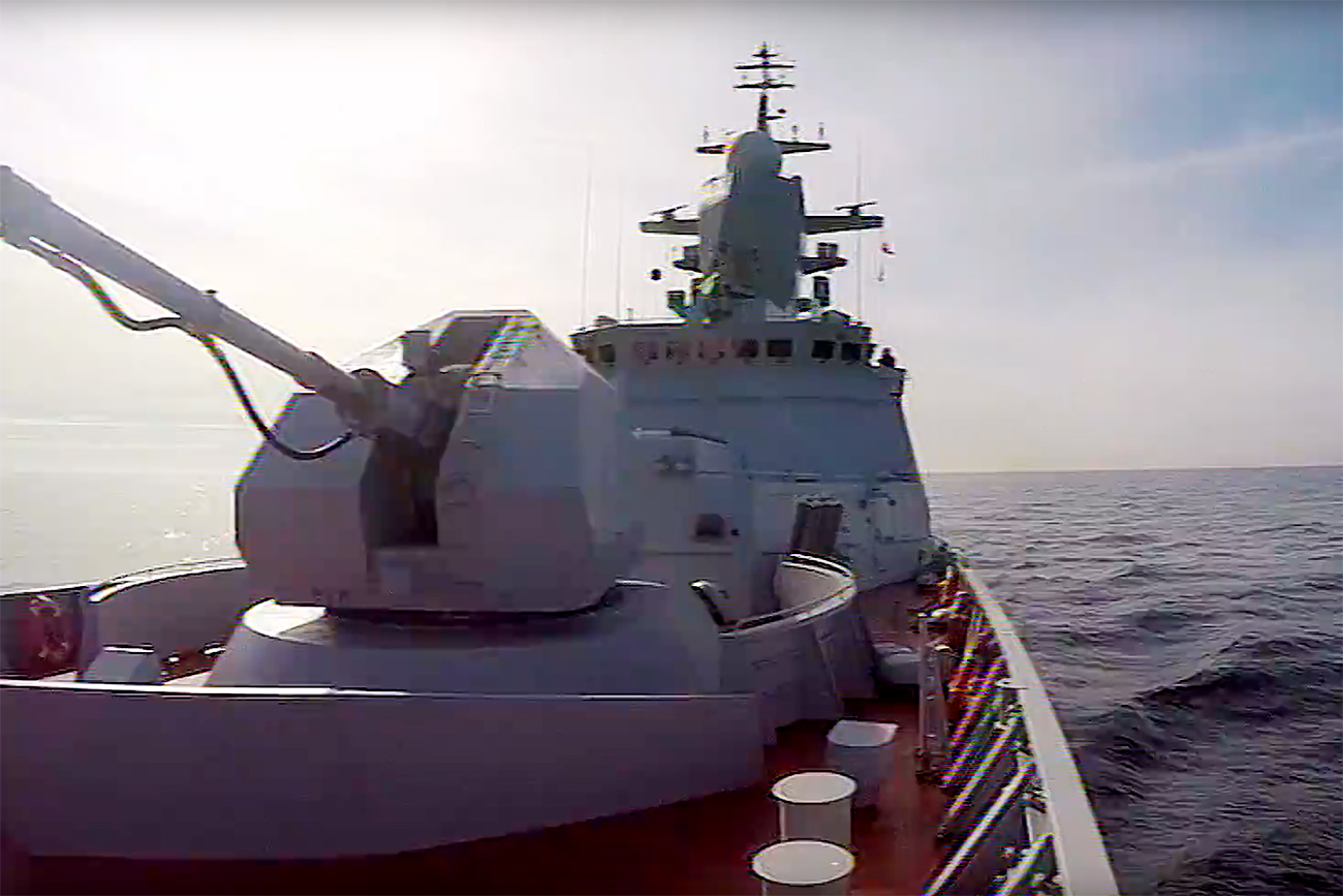 VIDEO Russian Navy drills in Baltic sea
