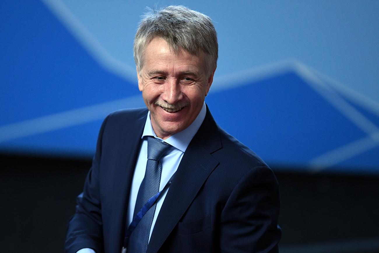 Leonid Mikhelson, orang paling kaya di Rusia dengan kekayaan pribadi 18,4 miliar dolar AS.