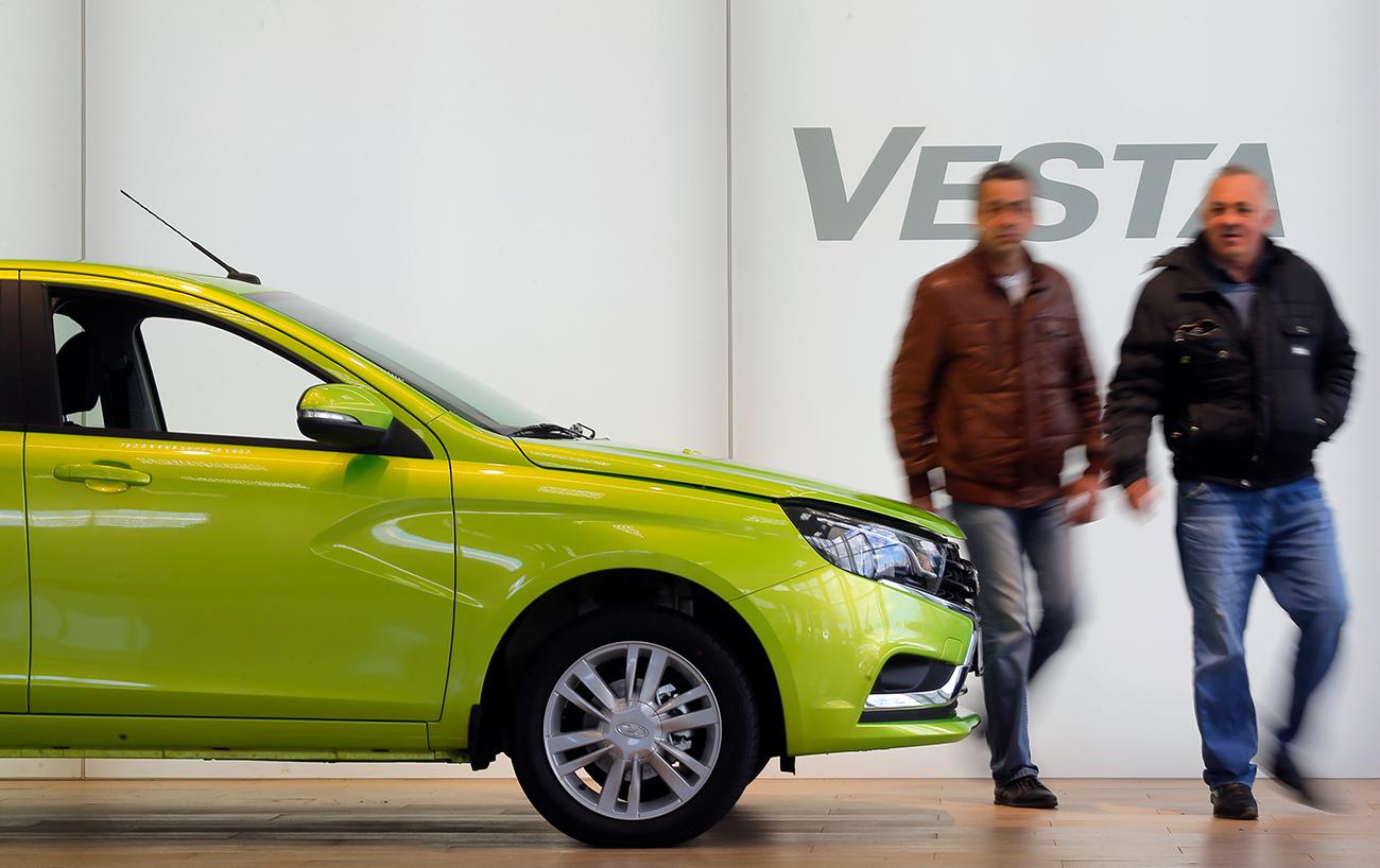 Le nouveau modèle, la Lada Vesta, a contribué à doper les résultats.