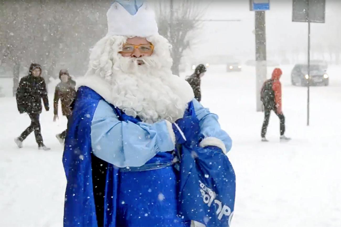Russian Santa in Kirov