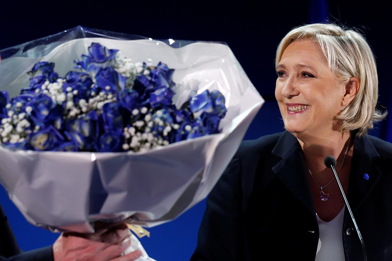 Marine Le Pen. Fuente: Reuters