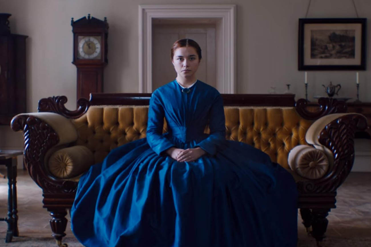A screenshot from the 2016 movie 'Lady Macbeth' by William Oldroyd