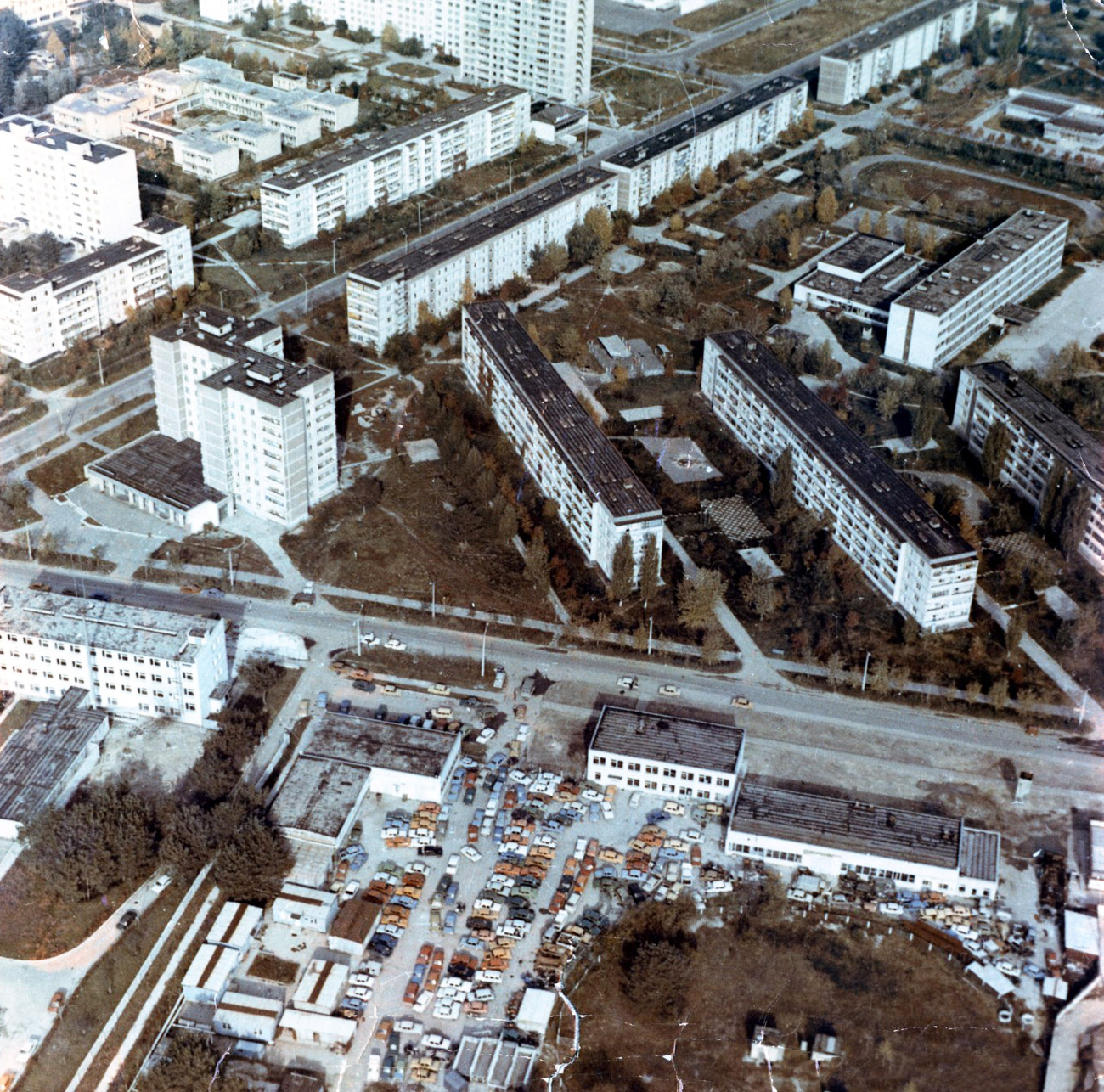 After residents were evacuated from Pripyat and other nearby settlements, a 30-kilometer exclusion zone was set up around the nuclear facility.
