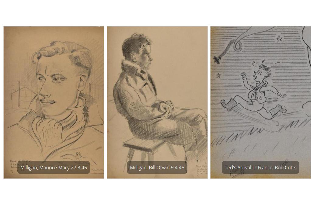 Works of Edward Arthur Milligan. Source: Press photo