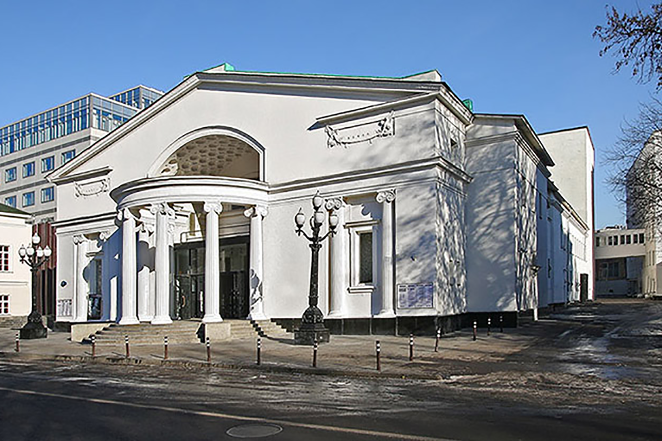 Sovremennik theater in Moscow.
