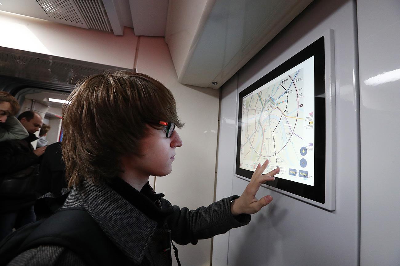 I monitor nei vagoni\n