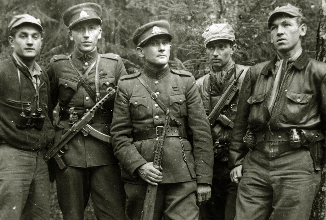 Litvanski Gozdni bratje leta 1950