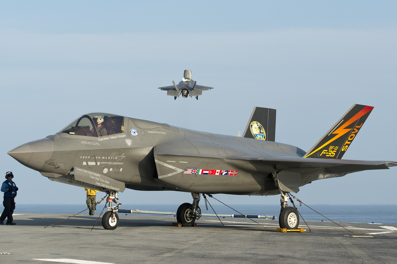 The F-35B is currently used by the U.S. Marine Corps. Source: Lockheed Martin