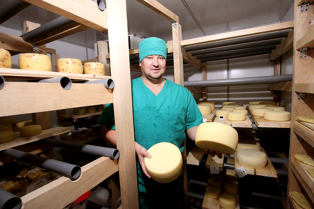 Airat Akhmadullin: 'Mum would always make cheese at home and she taught me the basics.'