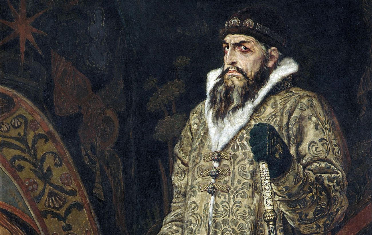 Viktor Vasnetsov. Tsar Ivan The Terrible. 1897