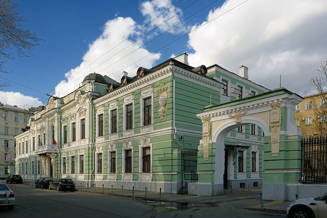 Городская усадьба Морозовых (Подсосенский переулок, дом 21, строение 1)