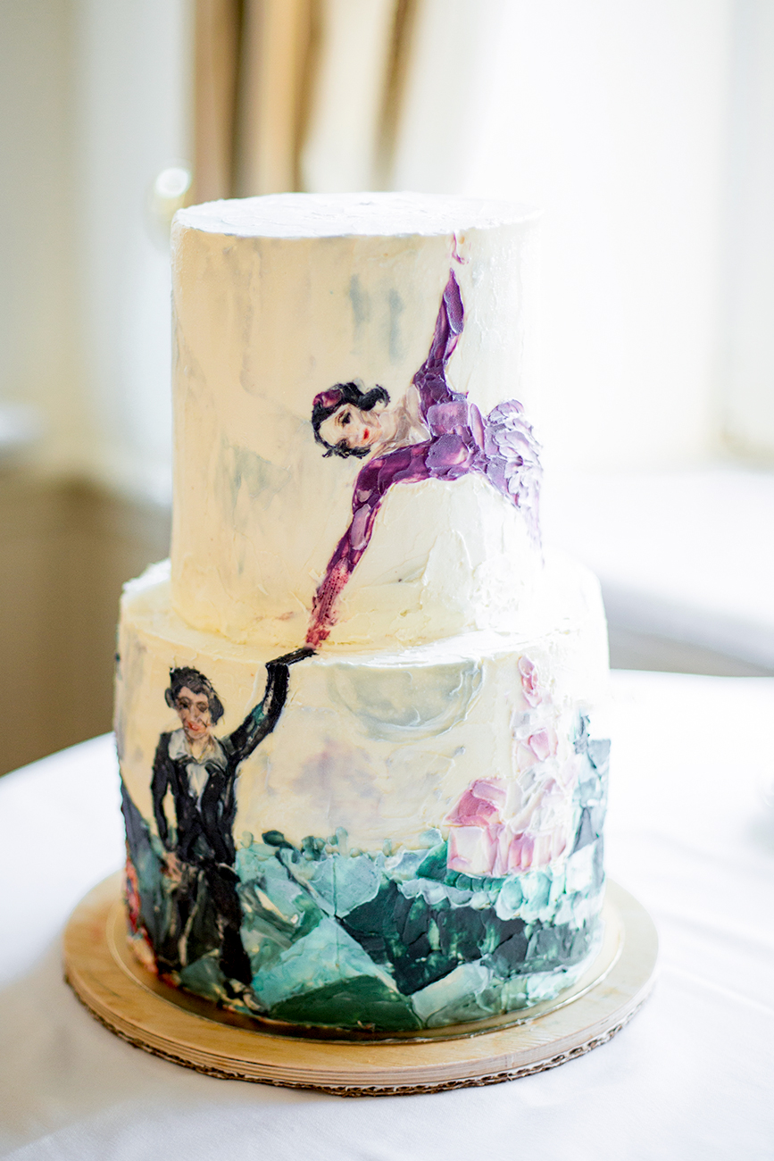 Customers began sending pictures and photos to Nastasia for her to put on the cakes. It wasn't long before requests were made for paintings by famous artists.
