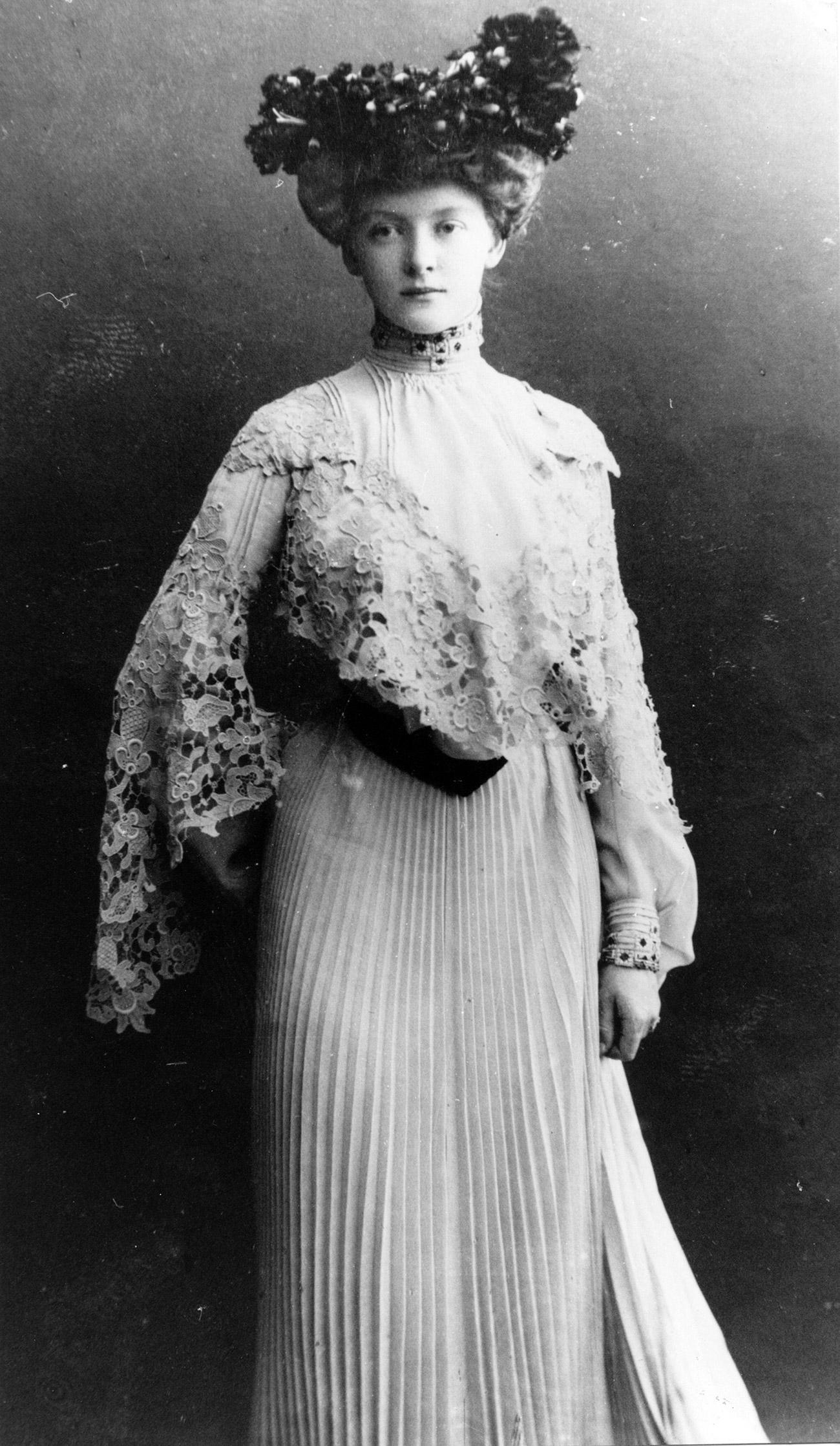 Ritratto di giovane donna russa, seconda metà XIX secolo. Fonte: Getty Images