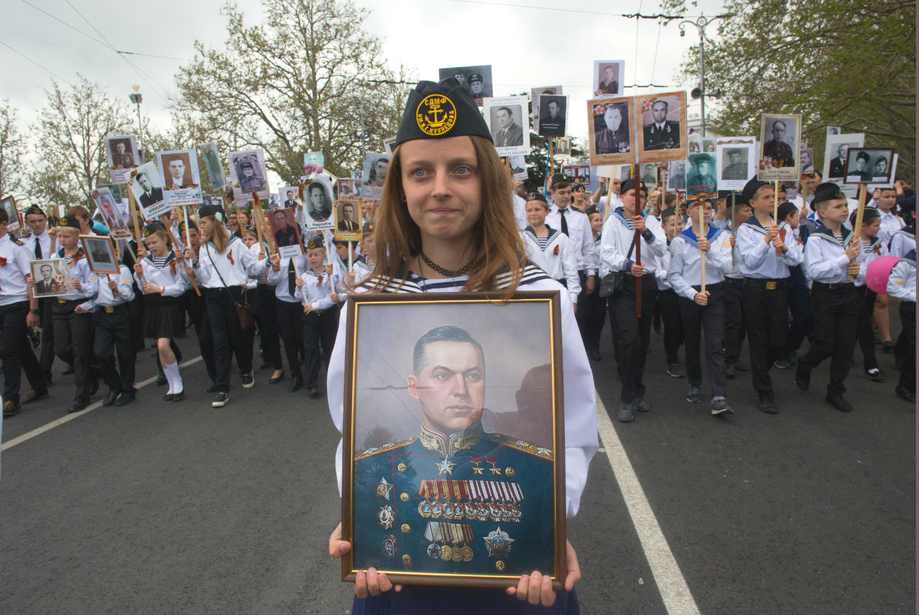 In the words of the president, the value of the Immortal Regiment is that it was born in the hearts of the people, not the offices of government.