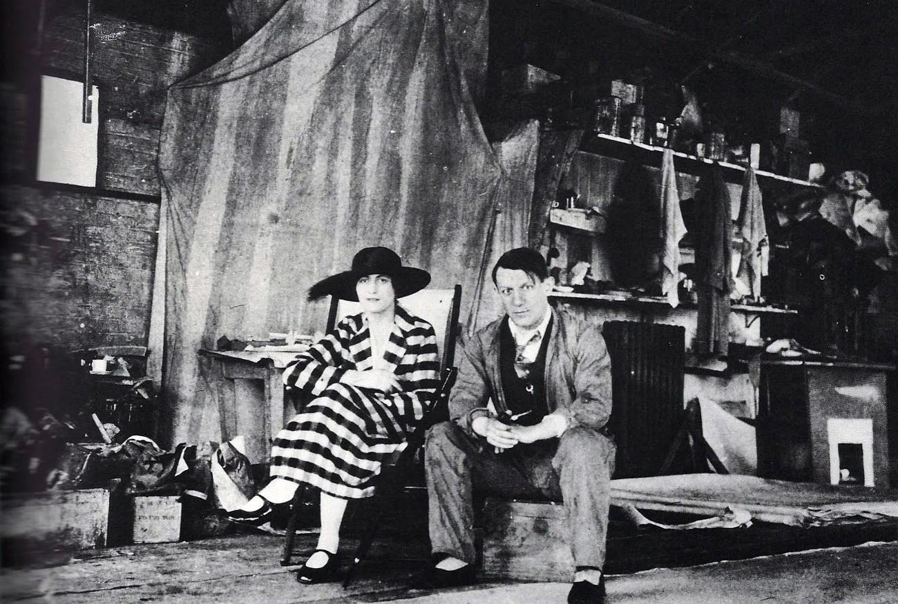 Pablo Picasso et Olga Khokhlova.